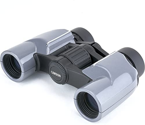 Carson Mantaray 8x24mm Porro Prism Compact Binoculars For Travel
