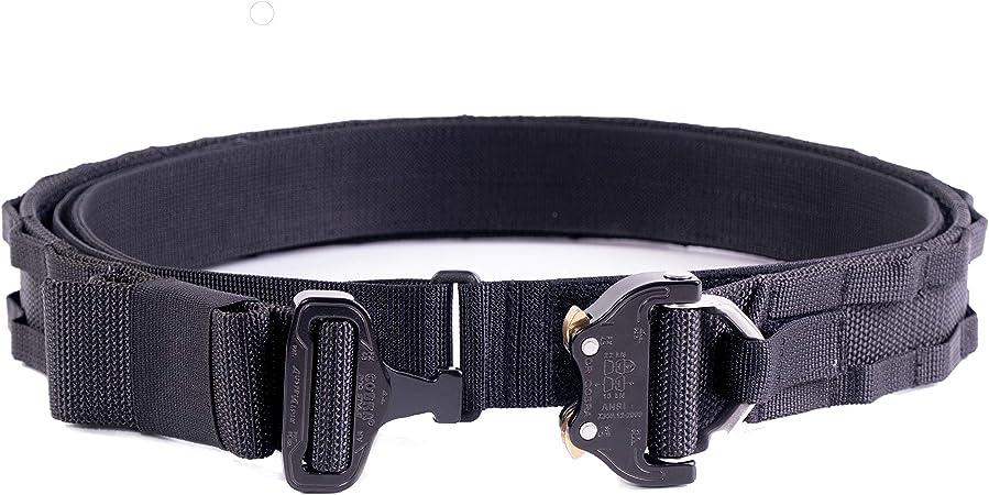 Cintur/ón t/áctico Molle Cobra D Talla L Color Negro ETFr