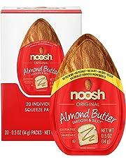 NOOSH Almond Butter (Original, 20 Count) - All Natural, Vegan, Gluten Free, Soy Free
