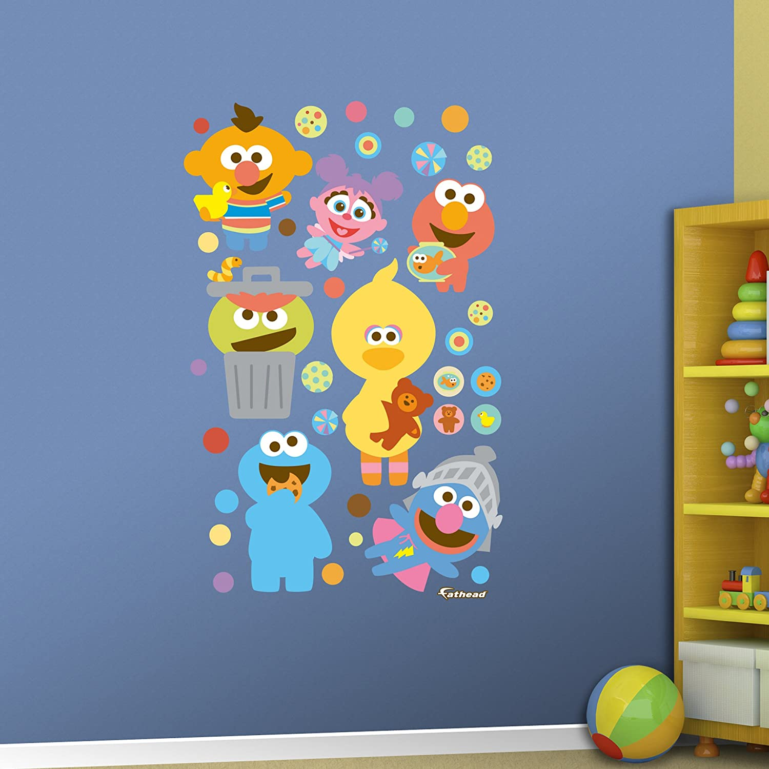 Amazon fathead sesame street baby collection real big wall amazon fathead sesame street baby collection real big wall decal home kitchen amipublicfo Images
