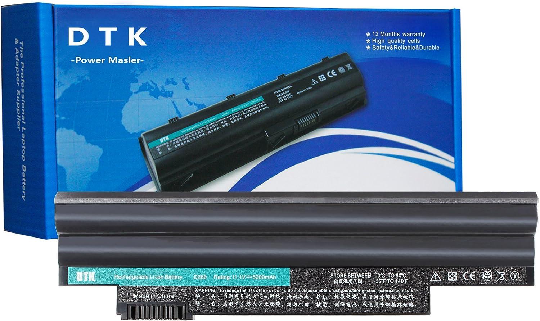 DTK 11.1V 5200mAh Laptop Battery Replacement for ACER Aspire One D255 D257 D260 D270 522 722 E100 Happy Happy2 Series Fit P/N AL10A31 AL10B31 AL10G31