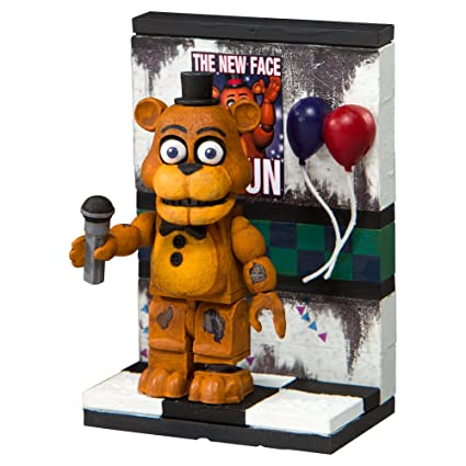 McFarlane Toys Five Nights at Freddy's The Party Wall Micro Construction Set