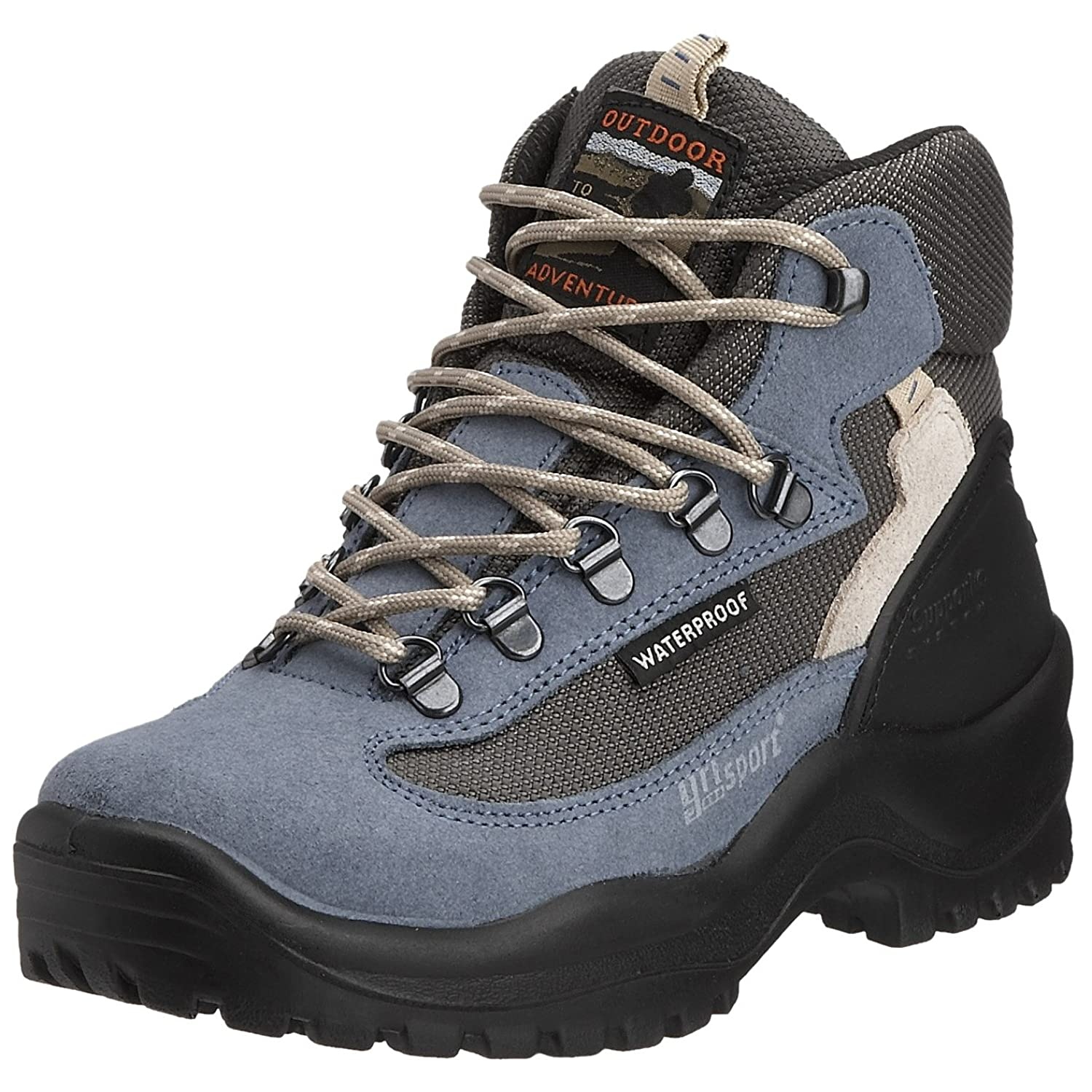 Grisport Women's Wolf Hiking Boot Navy CMG514 38 EU, 5 UK