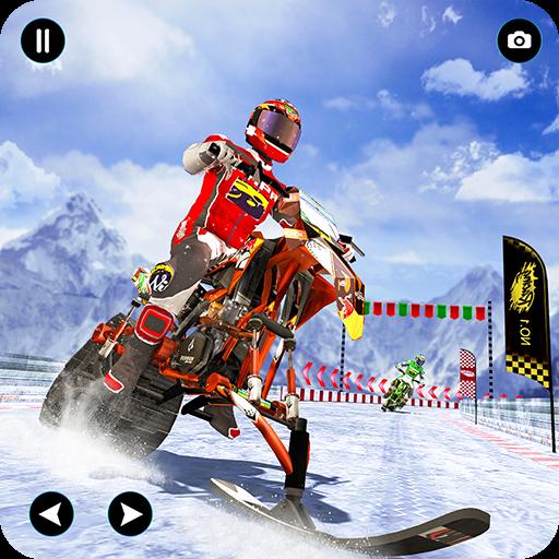 Snow Bike Championship- Snow Tracks Race - Race Snow