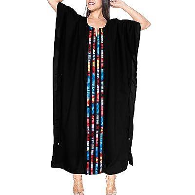 *La Leela* maillot de bain maillot de bain tie dye Beachwear lâche caftan rayonne robe de vêtements de nuit