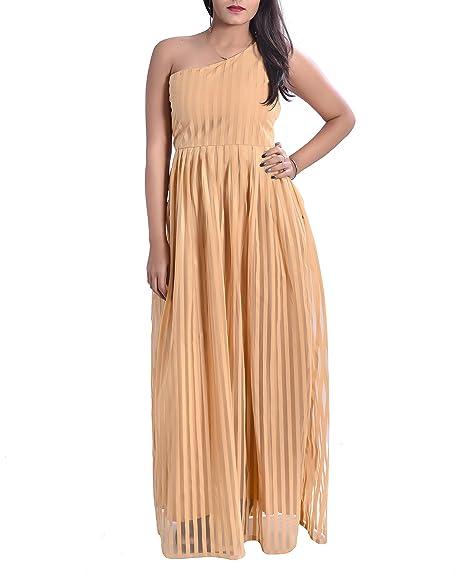 Strip Party Dress