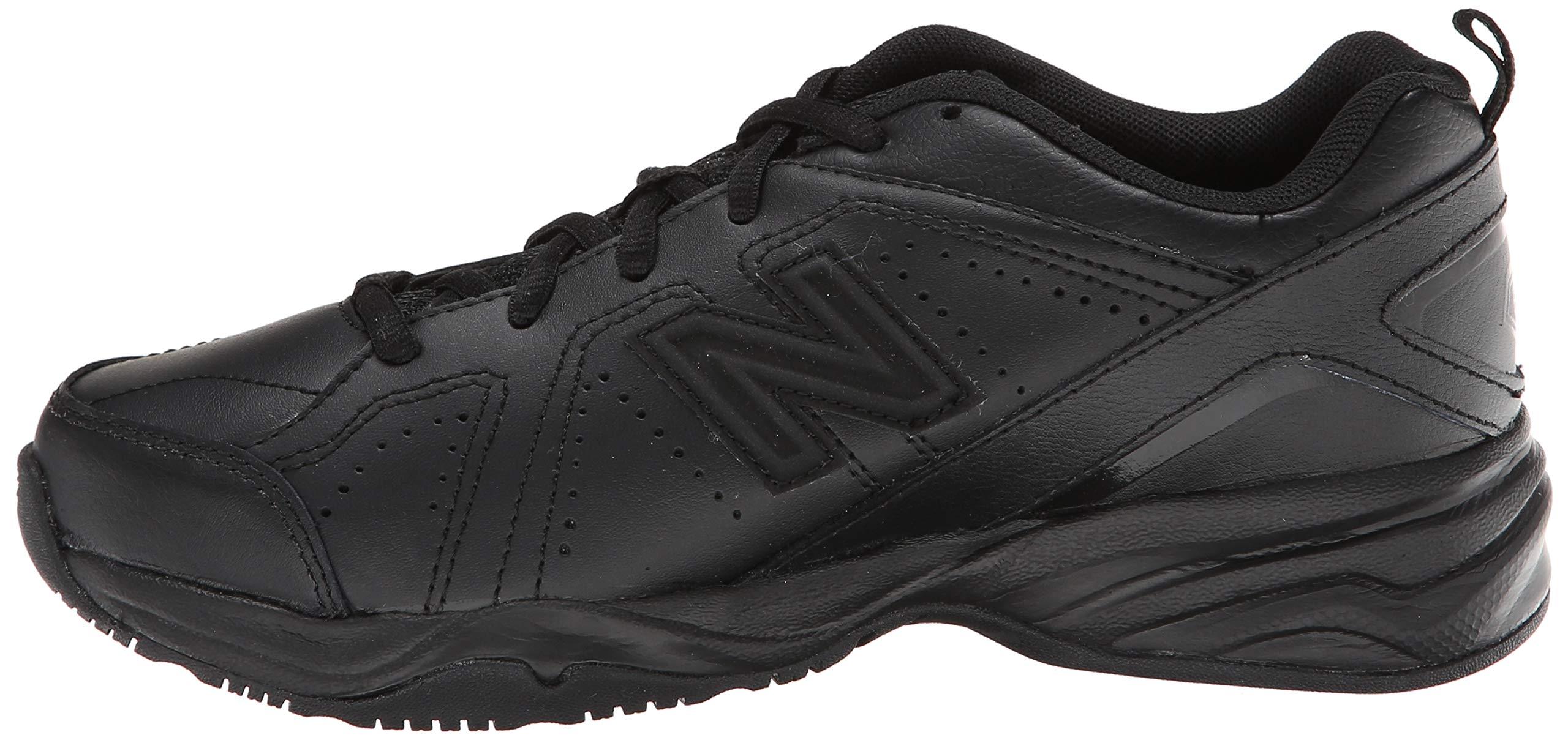 New Balance Boys KX624 Lace-Up Training Shoe ,Black,7 W US Big Kid by New Balance (Image #5)