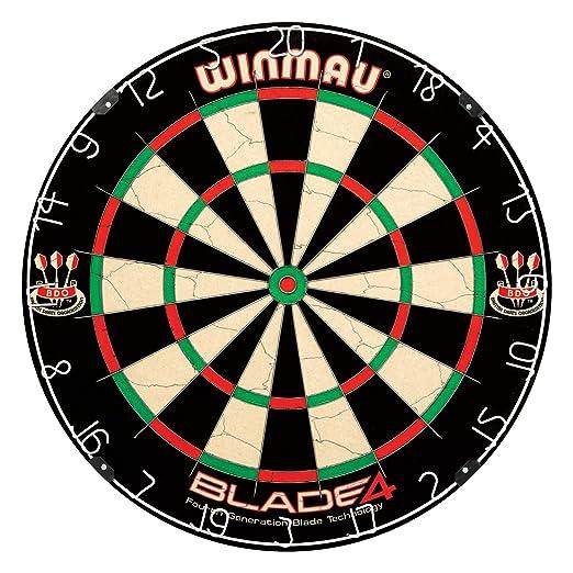 11 opinioni per Winmau, Tirassegno acciaio, Blade IV, beige / nero, 3006