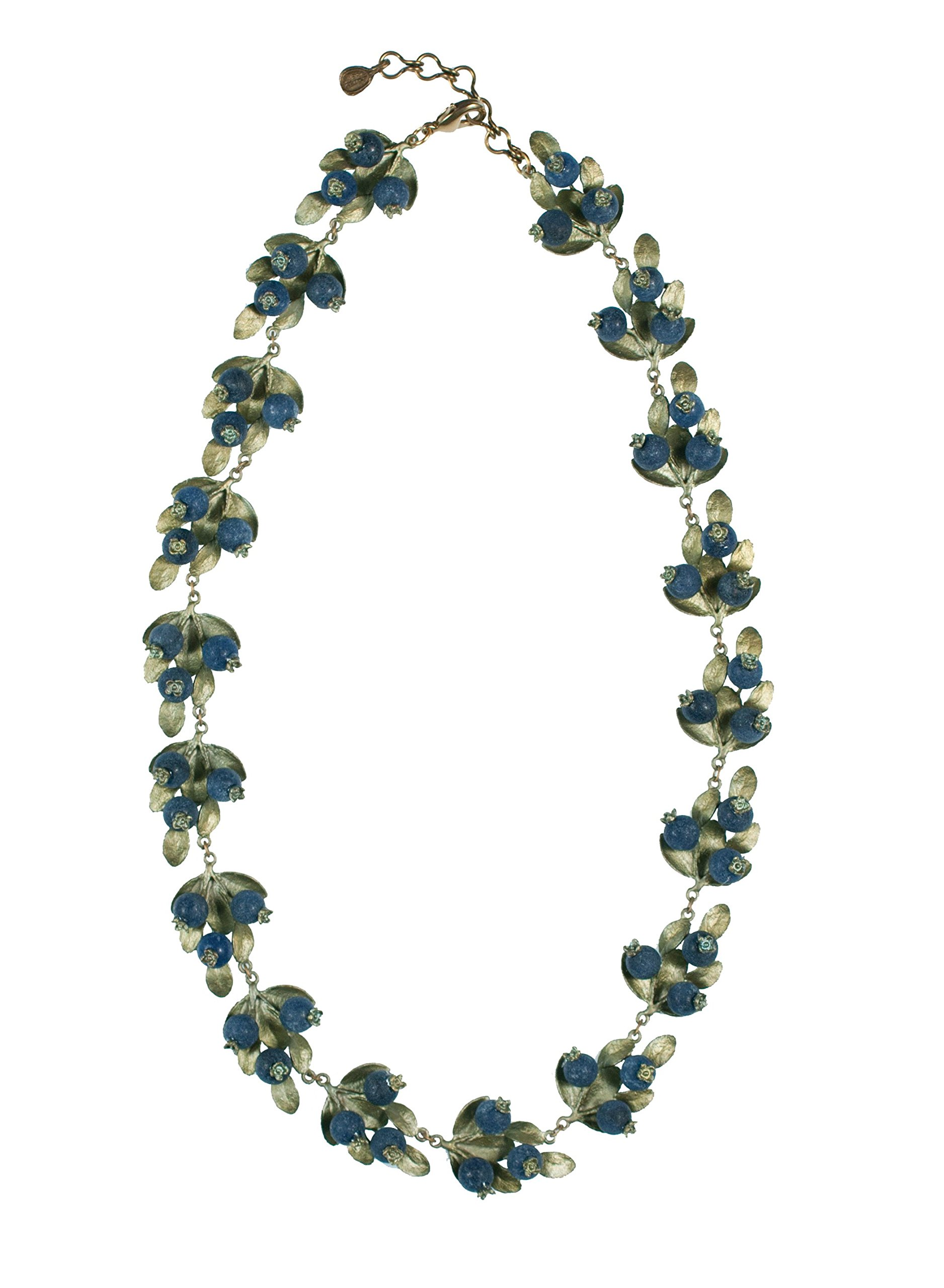 Michael Michaud Blueberry Contour Necklace for Silver Seasons...