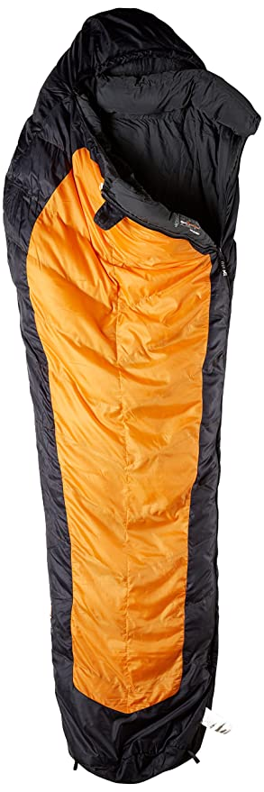Millet Summiter Sacos de Dormir, Unisex Adulto, Acid Orange, Long/Left Zipper: Amazon.es: Deportes y aire libre