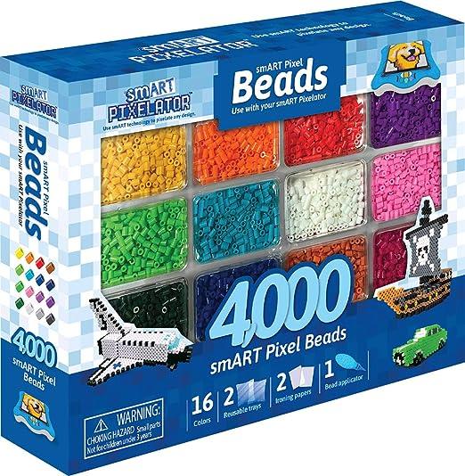 Smart Pixelator - Beads, Respuesto de 4000 Pieazas, para Niños y Niñas a Partir de 6 Años, Multicolor (Famosa 700015418)