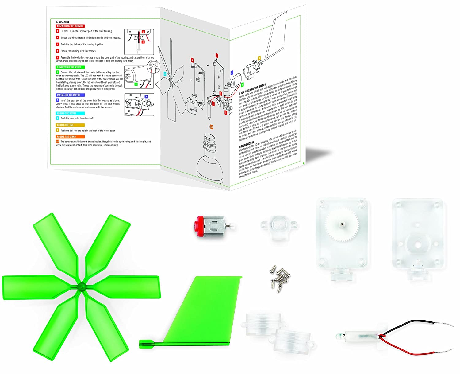 Green Science Windmill Generator By Toysmith Toys Games Wind Wire Diagram