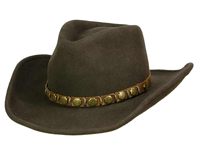Stetson - Cappello da cowboy - Uomo marrone M  Amazon.it  Abbigliamento db0b4634aaaf