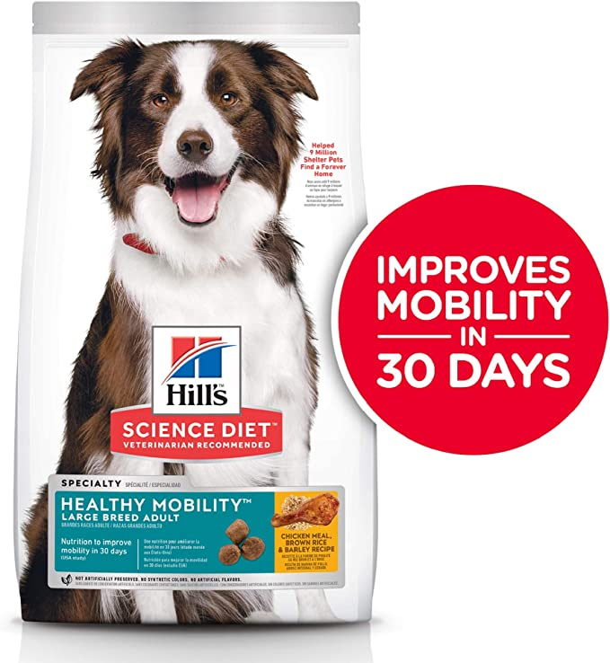Hill's Science Diet Healthy Mobility Dry Dog Food - Dog Food for Mobility Enhancement