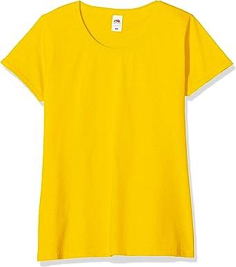 Fruit of the Loom Camiseta (Pack de 5) para Mujer: Amazon.es: Ropa y accesorios
