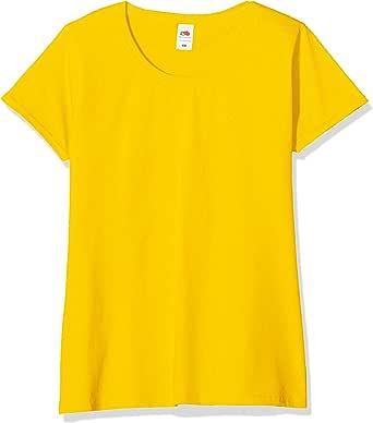 Fruit of the Loom Camiseta (Pack de 5) para Mujer