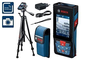 Laser Entfernungsmesser Wie Funktioniert : Bosch professional laser entfernungsmesser glm c mit stativ bt