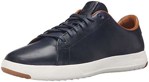 8ebbb1e0e3 Cole Haan Men's Grandpro Tennis Fashion Sneaker, Blazer Blue Hand Stain, ...