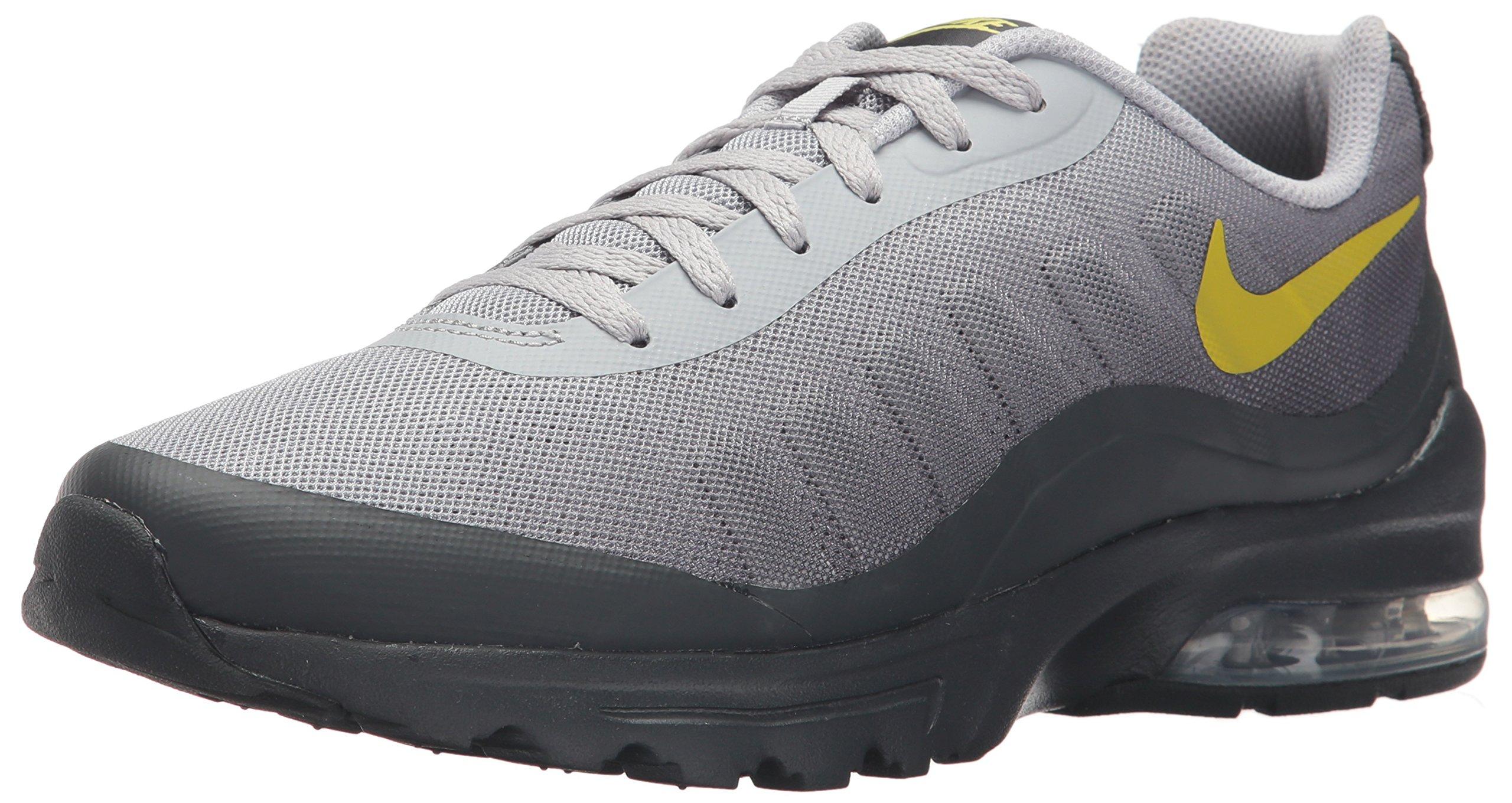 Nike Men's Air Max Invigor Print Running Shoe, Wolf GreyBright CactusAnthracite, 9 D US