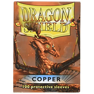 Arcane Tinman Dragon Shield Sleeves 100 Copper Cards (AT-10016): Toys & Games