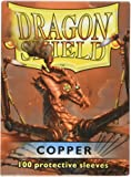 Arcane Tinman Dragon Shield Sleeves 100 Copper Cards