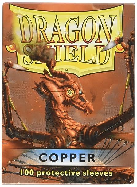 cc38ad9b81e Amazon.com  Arcane Tinman Dragon Shield Sleeves 100 Copper Cards  Toys    Games