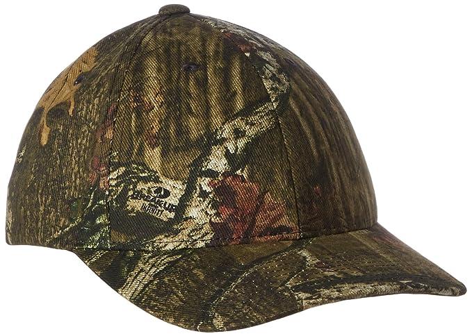 Amazon.com  Flexfit 6999 - Mossy Oak Camouflage Cap  Sports   Outdoors 59349fa1a9f