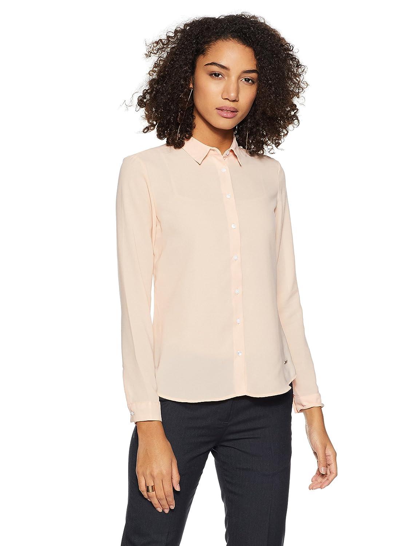 Van Heusen Women's Plain Regular Fit Shirt