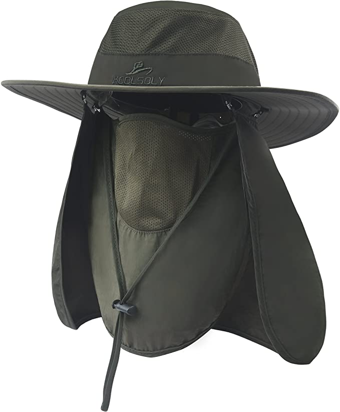 Fishing Hat Sun Cap with UPF 50+ Sun Protection