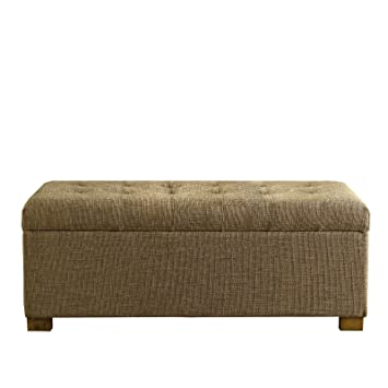 Strange Amazon Com Benjara Textured Fabric Upholstered Bench With Unemploymentrelief Wooden Chair Designs For Living Room Unemploymentrelieforg