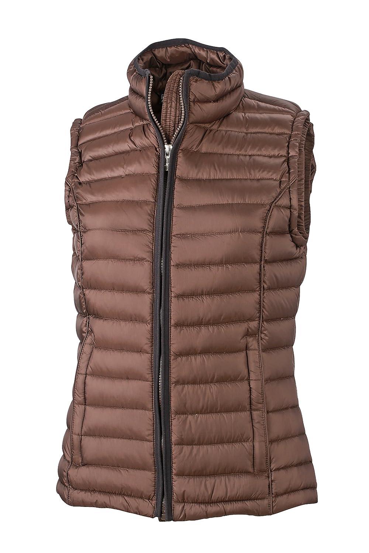 James & Nicholson Damen Jacke Jacke Jacke Weste Ladies Quilted Vest B00PDFNNSI Westen Schönes Aussehen f72cc7