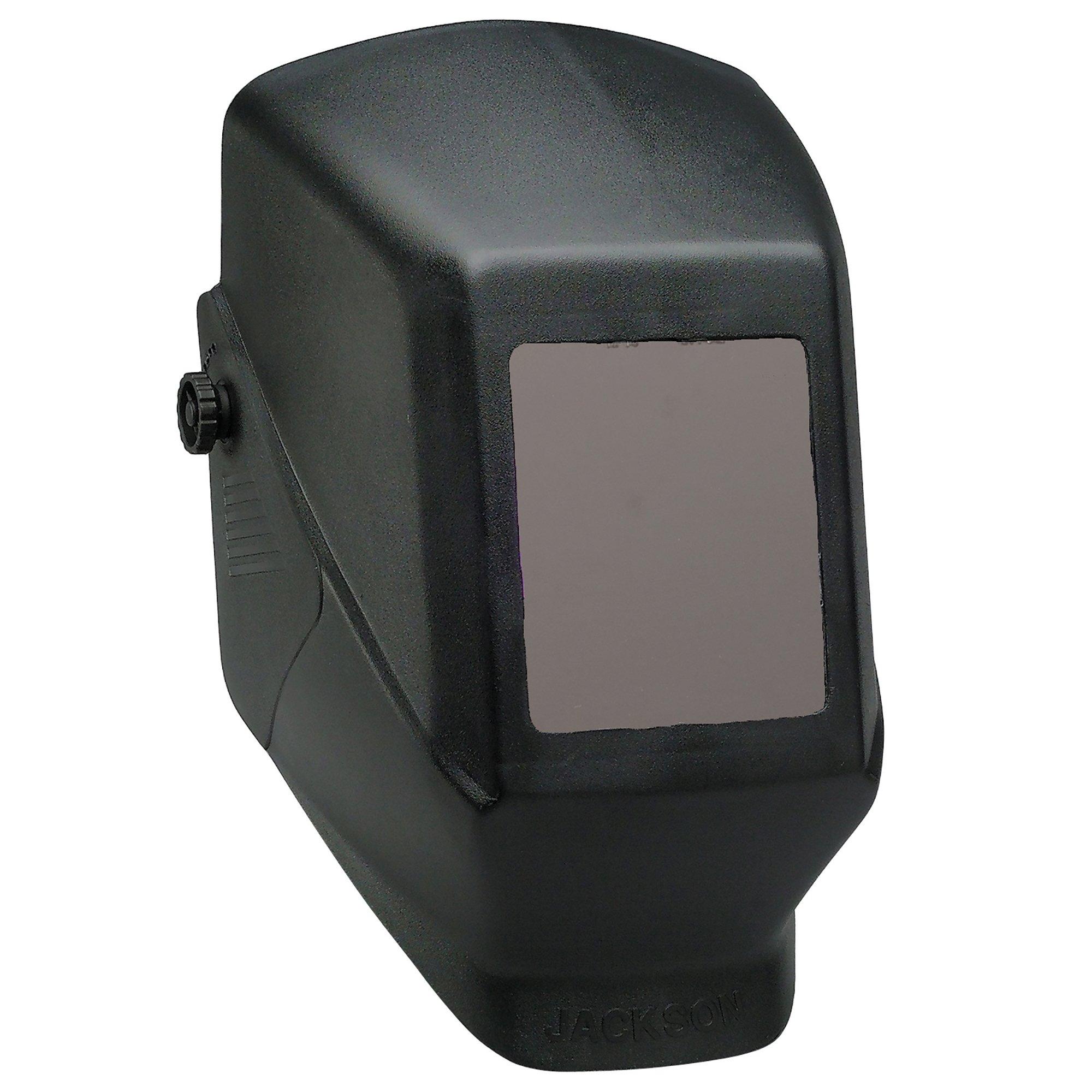 Jackson Safety Fixed Shade W10 HSL 100 Welding Helmet (14975), Black, 4 Units / Case by Jackson Safety