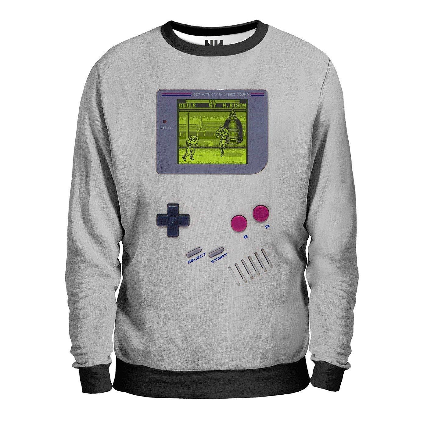 Noorhero Felpa con Cappuccio Game Boy: Amazon.it