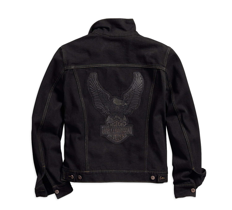 Amazon.com: Harley-Davidson - Chaqueta vaquera oficial para ...