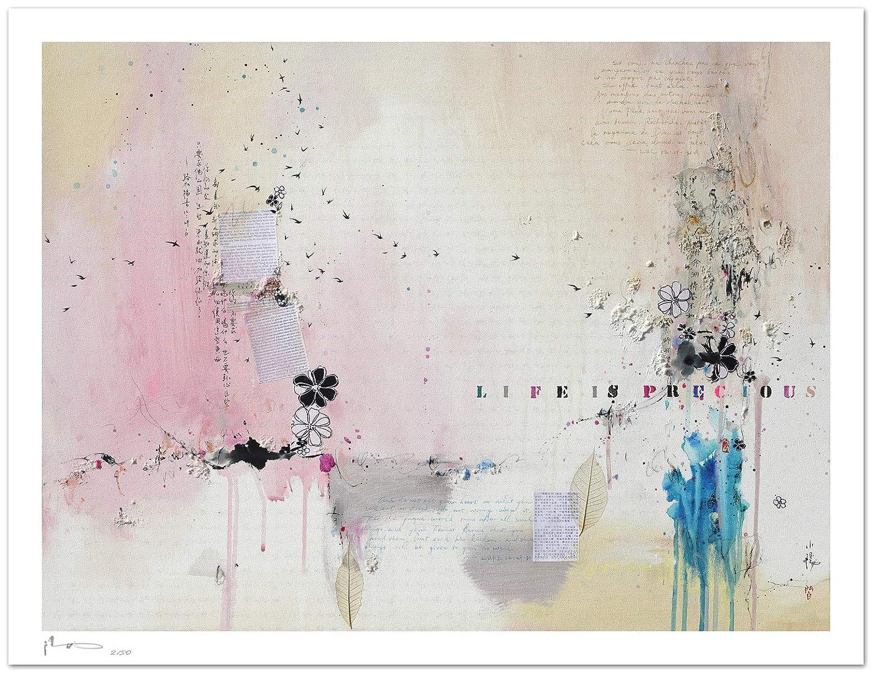Reproducción de arte - Life is precious IX - sobre papel de ...