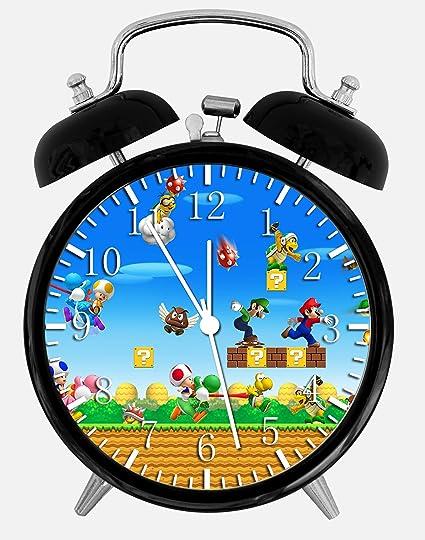 """Ikea Nuevo Super Mario reloj de alarma escritorio 3.75 """"Room Decor W425 será un"""
