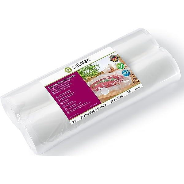 culivac Rollos de plástico para envasar al vacío Professional de ...