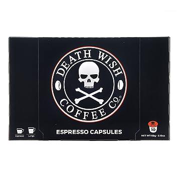 Death Wish Coffee Nespresso Compatible Capsules For Nespresso