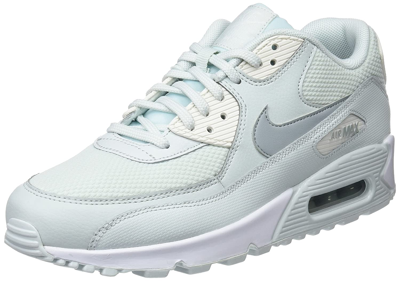 Nike Air MAX 90, Zapatillas para Mujer 36.5 EU Negro (Barely Grey/Light Pumice/Sail 053)