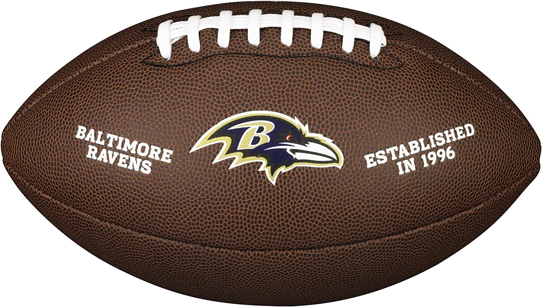 WILSON Baltimore Ravens Logotipo Oficial de f/útbol