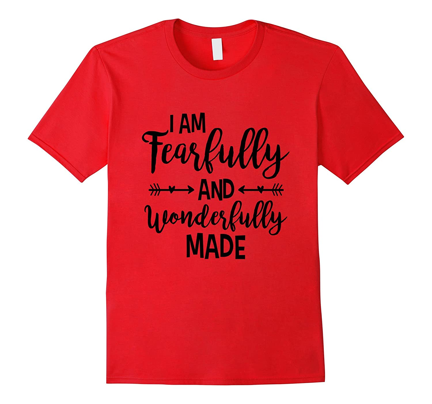 Women's Mother Fearfully and wonderfully made Black T-Shirt-TH