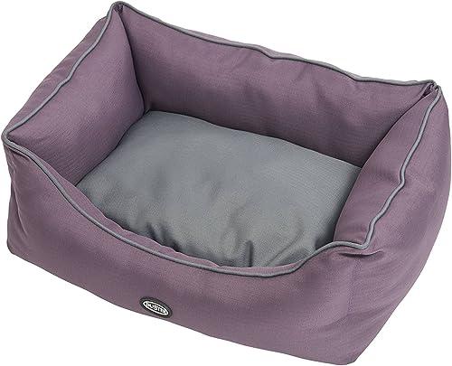 Kruuse Buster Sofa Bed, Black Plum Steel Grey, 45 x 24