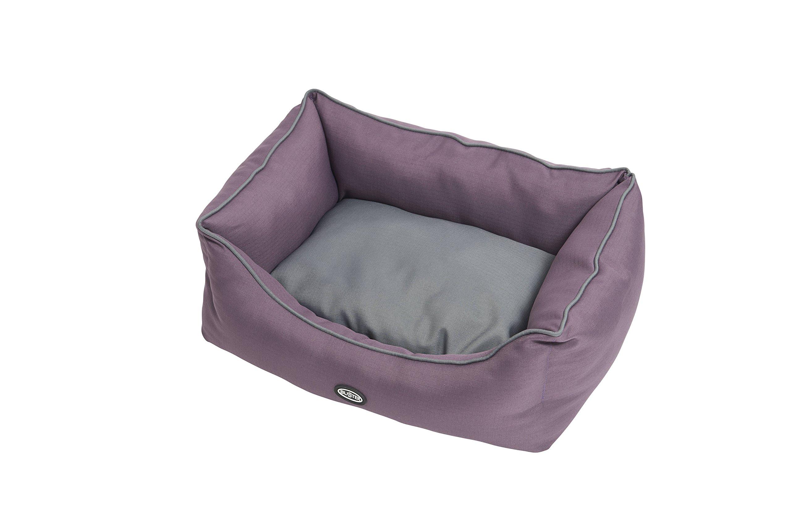 Kruuse Buster Sofa Bed, Black Plum/Steel Grey, 45 x 24''