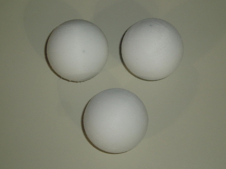 Les ballons de football TABLEAU 3 x 36 mm /érafl/é BLANC BOULES