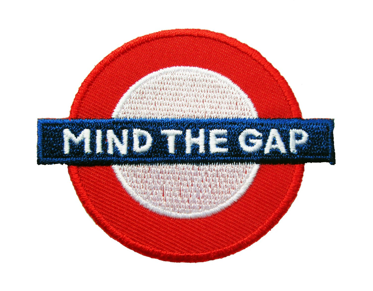 London Sign Logo Mind the Gap Iron on Patches by DIYmonk Patch   B00CV0AWPK