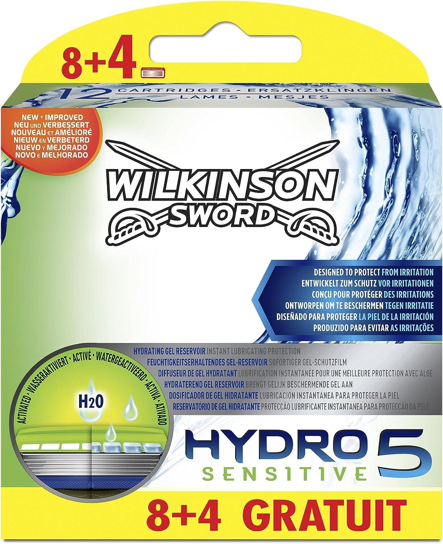Wilkinson Hydro 5 Sensitive – 12 Hojas