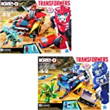 Kre-O Transformers Robots in Disguise Twin Pack: Sideswipe Roadway Rundown & Strongarm Capture Cruiser