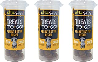 product image for ETTA SAYS! Dog Training Treats to Go Peanut Butter Small Dog Treats – Made in The USA, 100% Natural