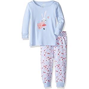 b3d7b104a64d Amazon.com  Gymboree Girls  Toddler Cotton Pajamas 2-Piece Set ...