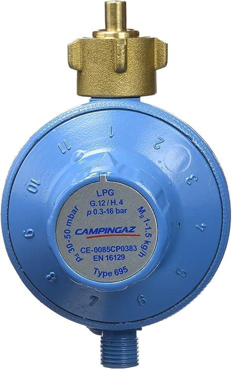 CAMPINGAZ 4330200 - Regulador de presión para hornillo (30 a 50 mbar)